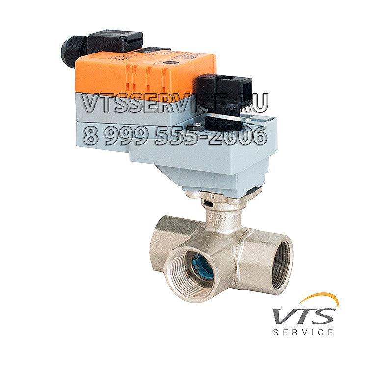 Трехходовой клапан с сервоприводом VTS