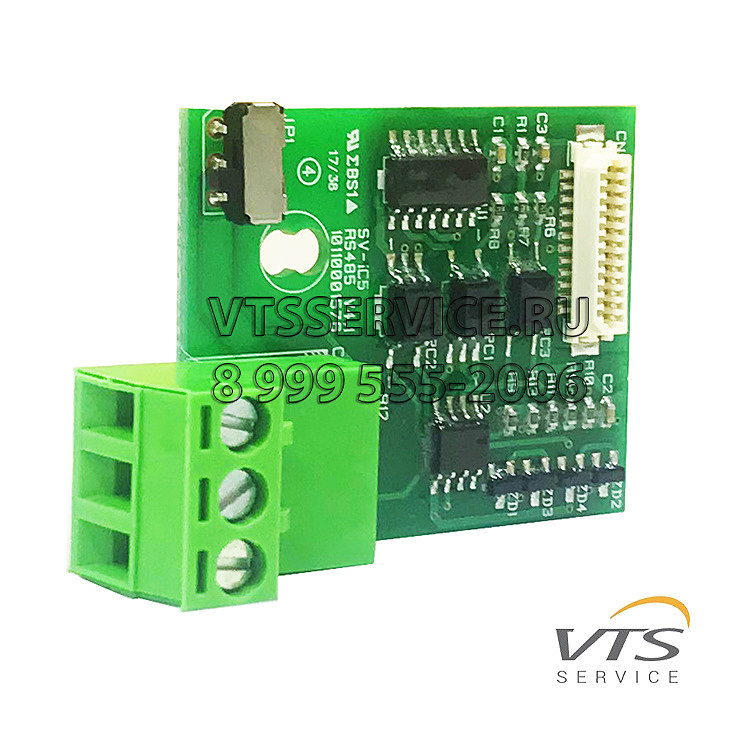 Плата Modbus RTU Option Board for iC5 FC,MODBUS.MDL iC5 VTS